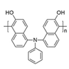 Synthesis of regiocontrolled triarylamine-based polymer with a naphthol unit